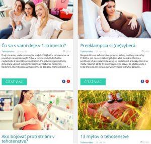 Marketing blogy tehotenstvo