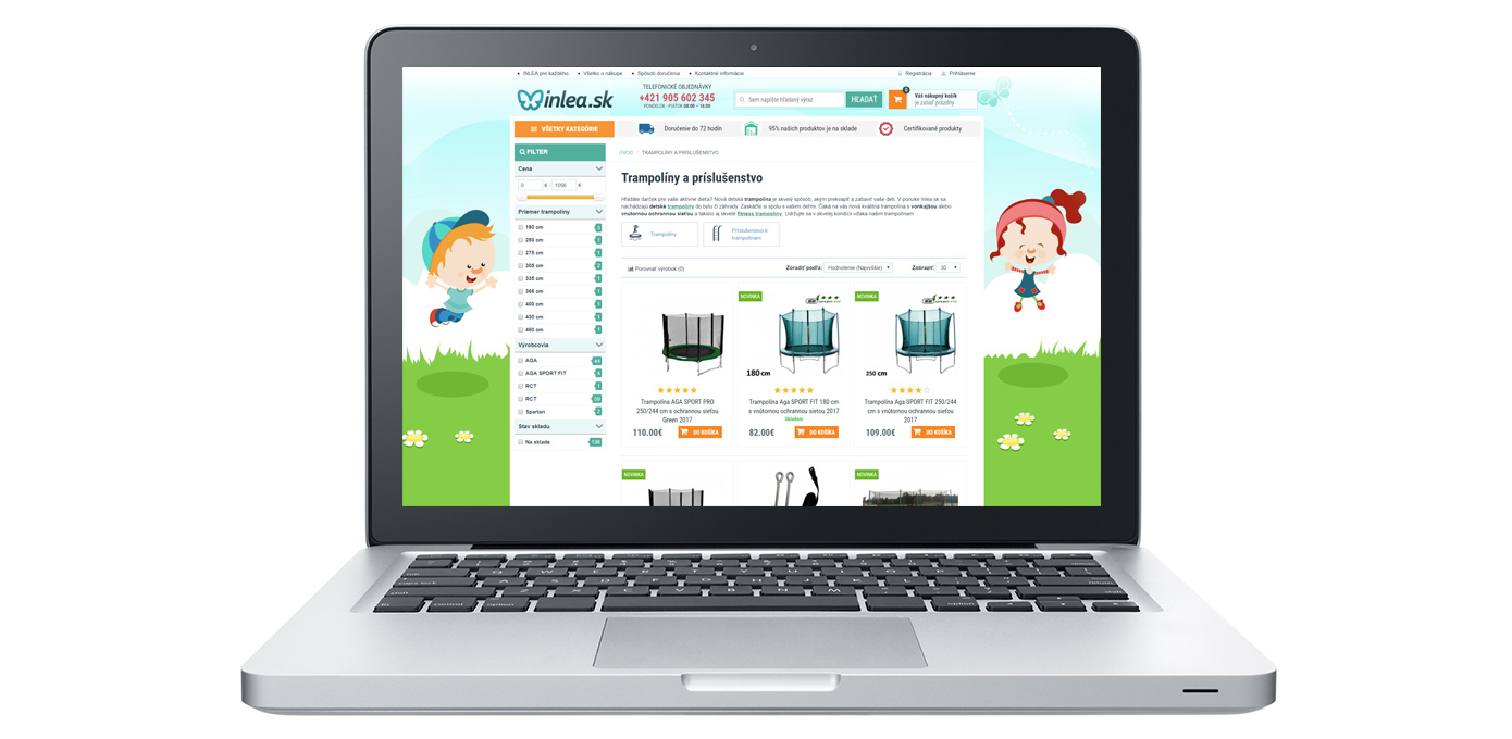 Internetový obchod Inlea.sk