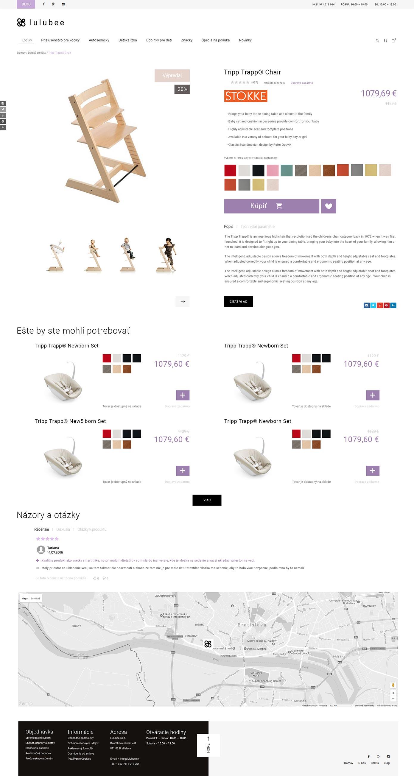 Dizajn produktu Lulubee