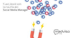 Čo som sa naučila ako Social media Manager