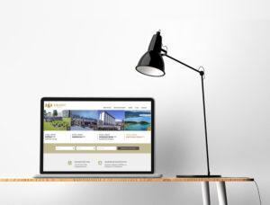 Webdizajn stránky Granit