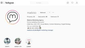 Instagram Madviso