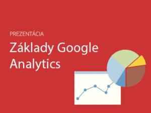 Základy Google Analytics