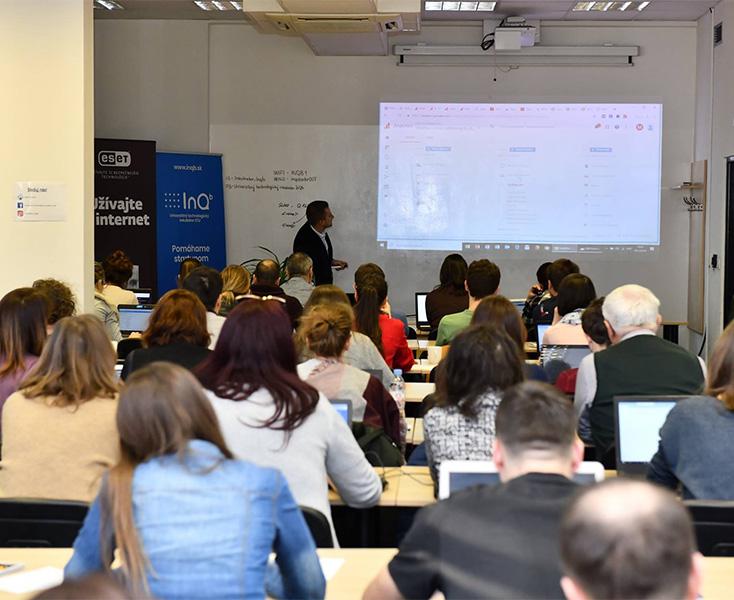Školenie Google Analytics v spolupráci s Inqb