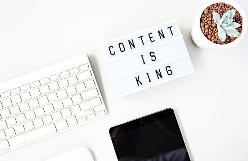 Optimalizovaný obsah webstránky