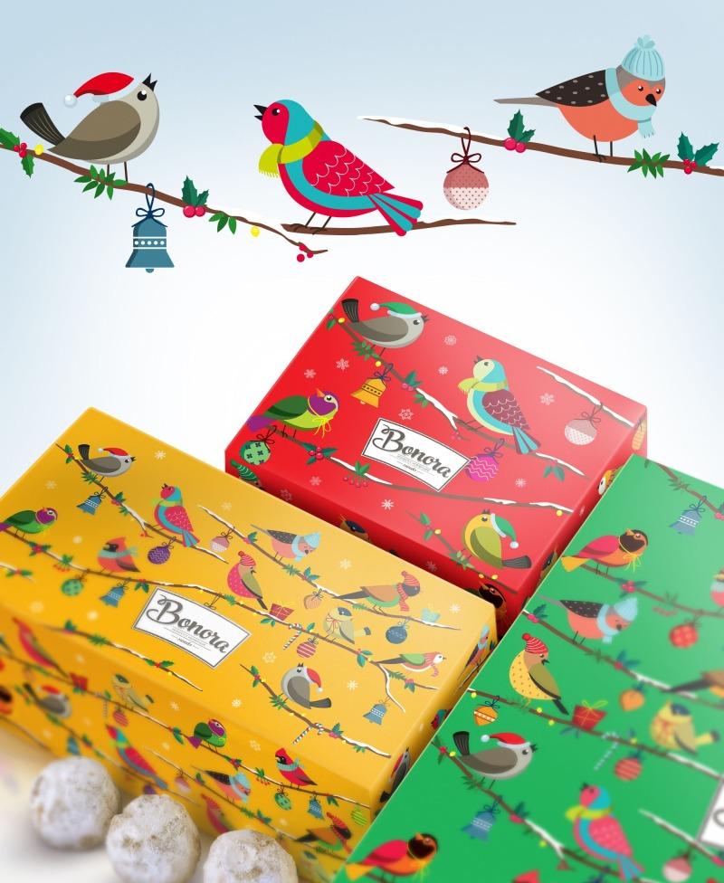 Vianočný obal čokolády