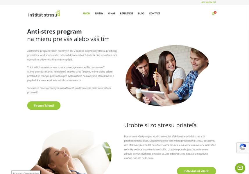 Webstránka pre Istres.sk