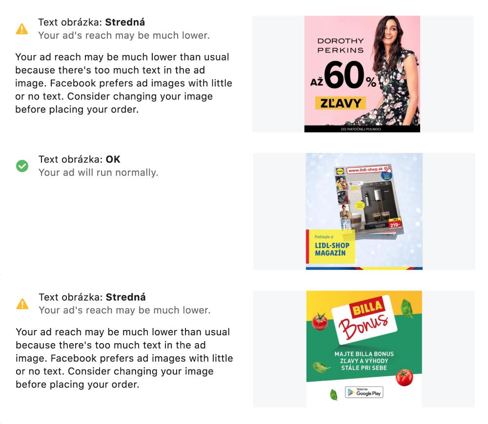Test kvality reklám