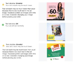 test kvality reklamych vizuálov na Facebooku