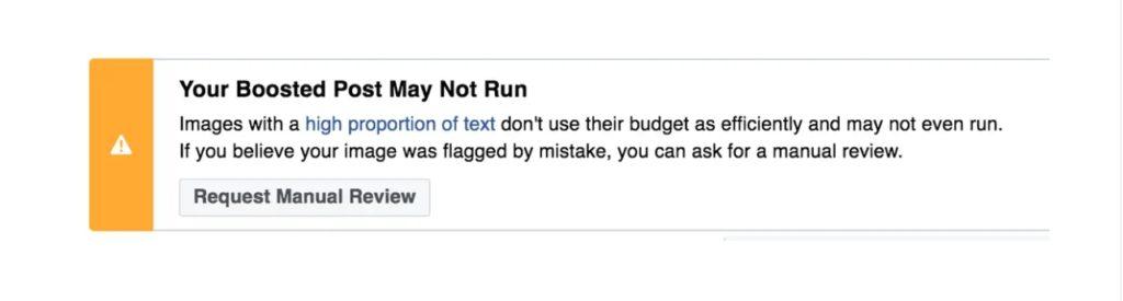 Facebook kontrola reklamy