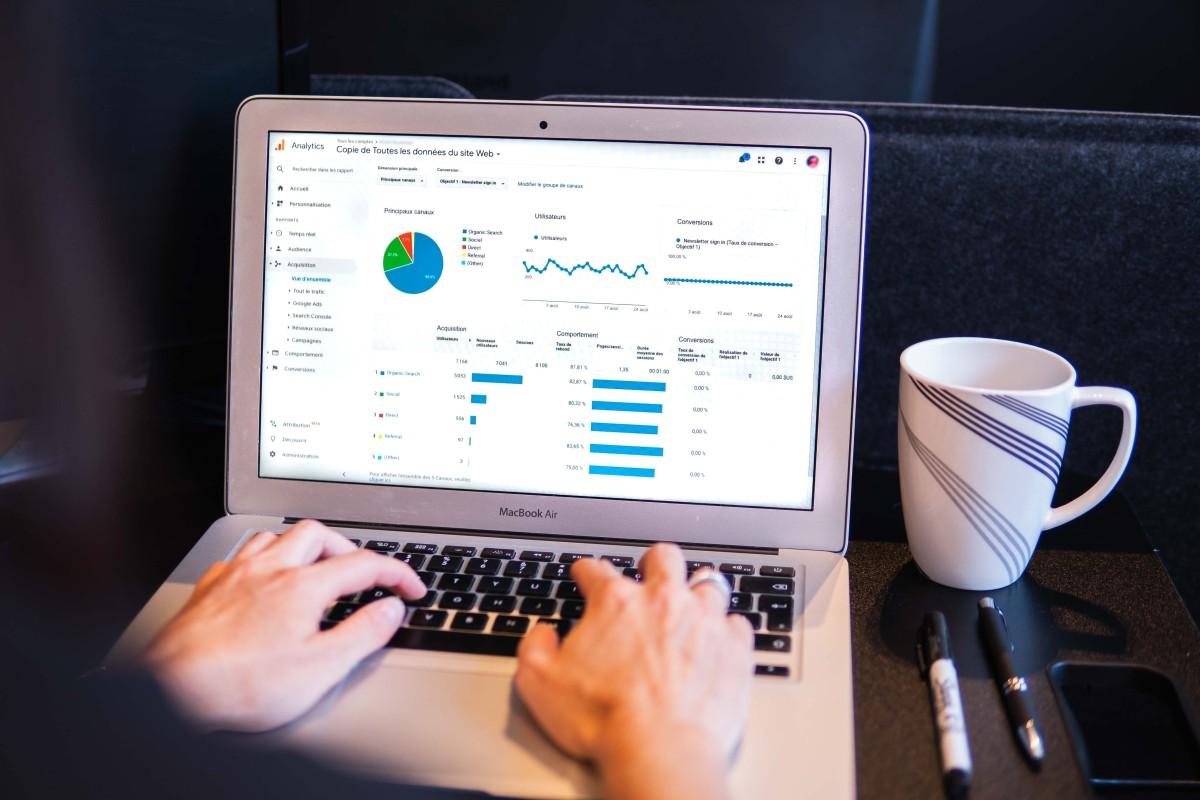 Digitálna analytika pre webstránku